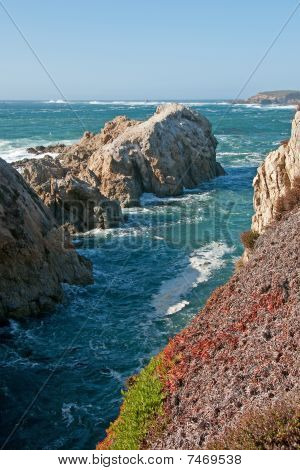 Rocky Coastline of Northern California