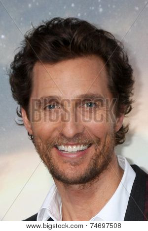 LOS ANGELES - OCT 26:  Matthew McConaughey at the
