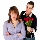 picture of atonement  - Boy will giving roses after the fight - JPG