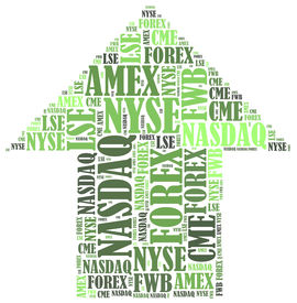 pic of nyse  - Stock market or New York Stock Exchange trading concept - JPG