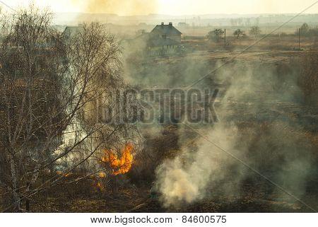 Smoky Landscape.