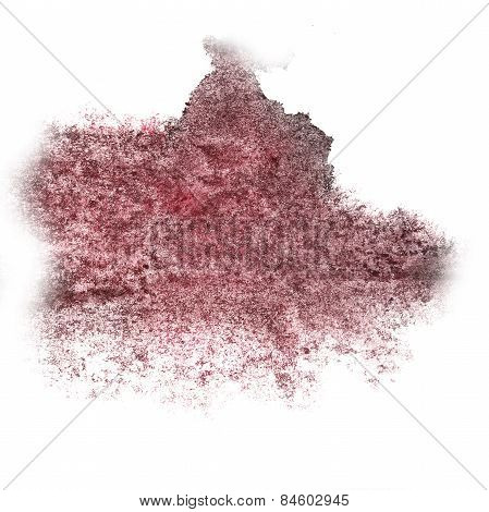 Abstract watercolor background cherry, black for your design ins