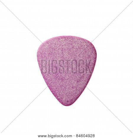 Guitar Pick Isolated On White