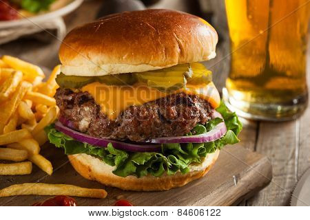 Grass Fed Bison Hamburger
