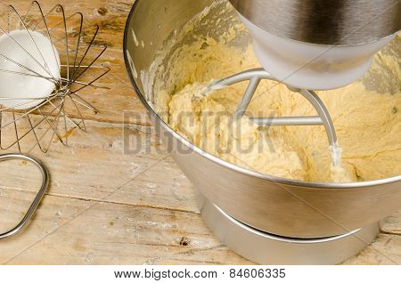 Food Processor With Beater Tool