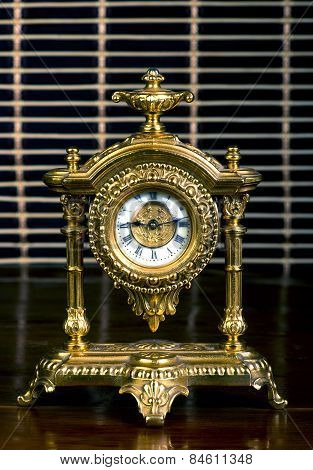 Frence Gold Clock.
