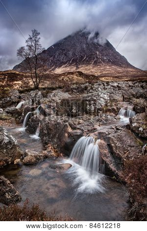 Isle of Skye landscape during a storm