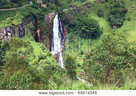 Waterfall Devon, Ceylon