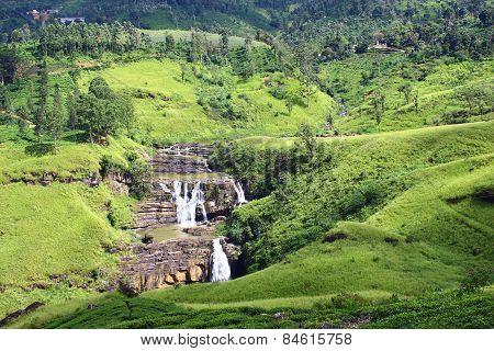 Falls St. Clair, Ceylon
