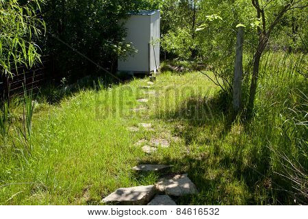 Path To The Outhouse