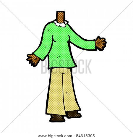cartoon headless body (mix and match or add own photos)