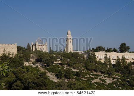 Dormition Abbey, Mount Zion, Jerusalem, Israel
