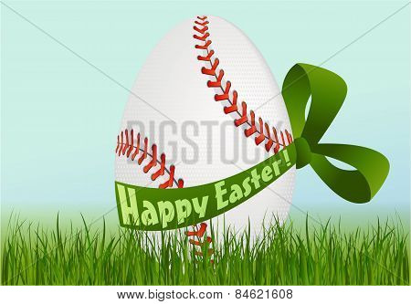 Baseball Easter egg