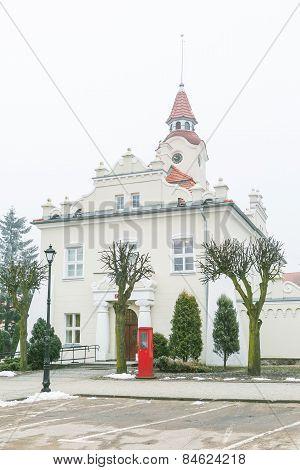 Town Hall In Dzialdowo, Poland