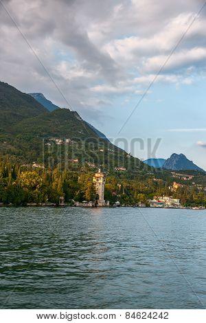 Castle, Garda Lake, Italy