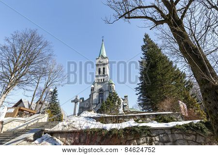 Holy Family Church In Zakopane