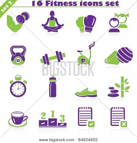 Fitness Icons Set (2)
