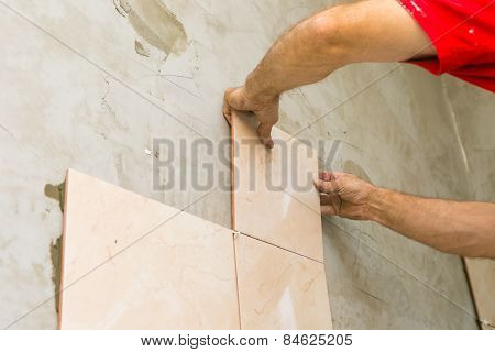 Hands And Tiles