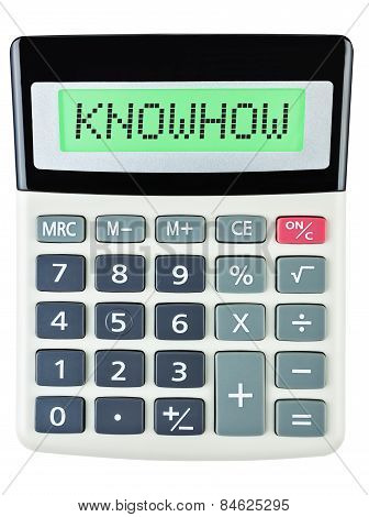 Calculator With Knowhow