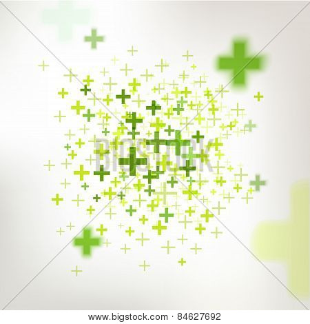Easy mathematics of profits abstract vector background