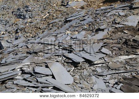 Slate slabs