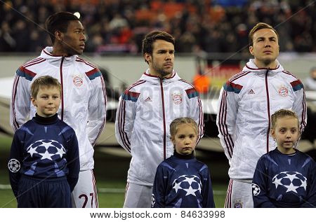 Fc Bayern Munich Players