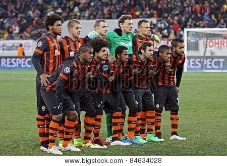 Fc Shakhtar Donetsk Team