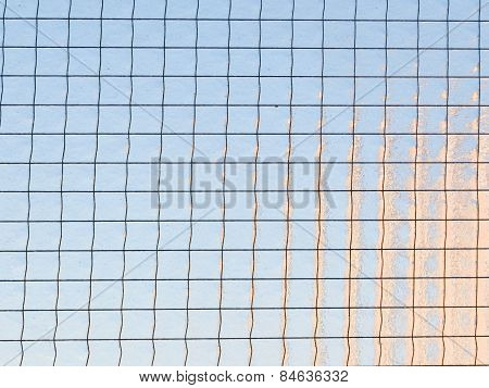 Glass With Grid
