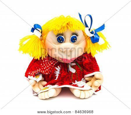 Doll homemade funny