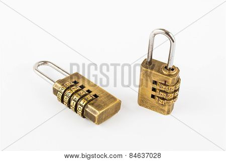 Pair Of Golden Code Master Keys