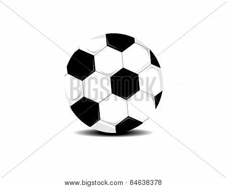 Football or soccer ball icon