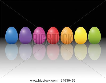 Easter Eggs Stylish Chic