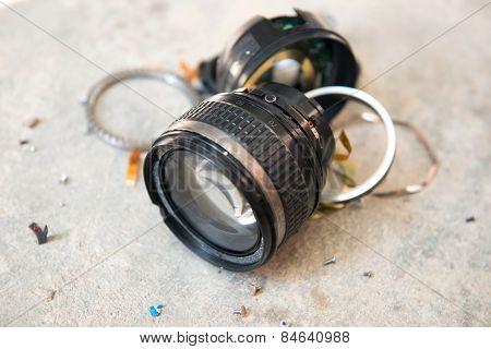 Camera Lens Broken