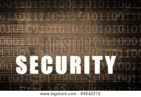 Security Network on a Digital Binary Warning Abstract