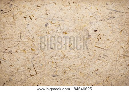 Brown Mulberry Paper Background/ Texture