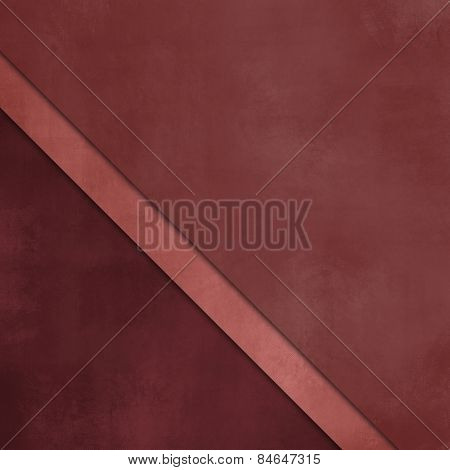 Red abstract layered paper background with soft texture in shades of marsala colors
