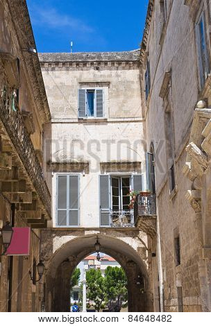 Porta Bari. Altamura. Puglia. Italy.