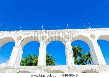 Lapa Archs in Rio de Janeiro, Brazil