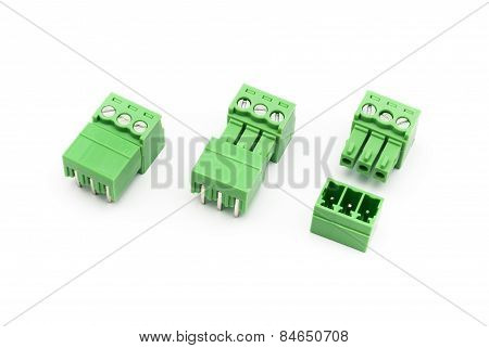 Screw Terminal Block Connector Pairs