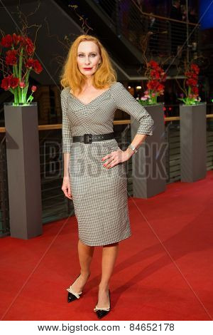 BERLIN, GERMANY - FEBRUARY 14: Andrea Sawatzki attends the Closing Ceremony of the 65th Berlinale International Film Festival on February 14, 2015 in Berlin, Germany