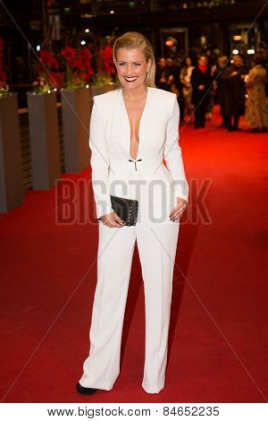 BERLIN, GERMANY - FEBRUARY 14: Jennifer Knaeble attends the Closing Ceremony of the 65th Berlinale International Film Festival at Berlinale Palace on February 14, 2015 in Berlin, Germany