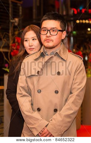 BERLIN, GERMANY - FEBRUARY 14: Na Young-kil. Closing Ceremony of the 65th Berlinale International Film Festival at Berlinale Palace on February 14, 2015 in Berlin, Germany.