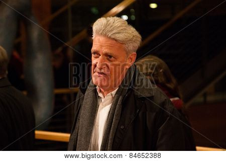 BERLIN, GERMANY - FEBRUARY 14: Dieter Moor attends the Closing Ceremony of the 65th Berlinale International Film Festival on February 14, 2015 in Berlin, Germany