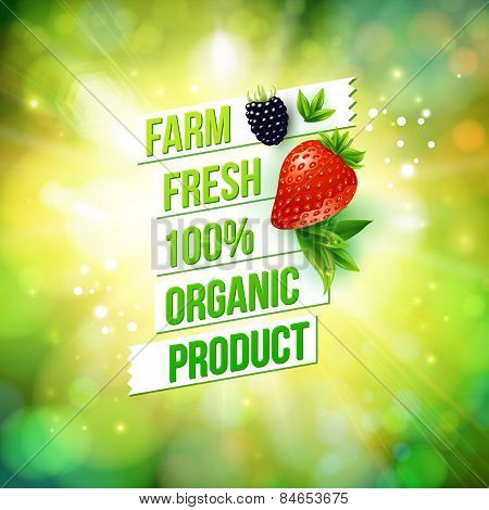 Guaranteed Farm Fresh Organic Product