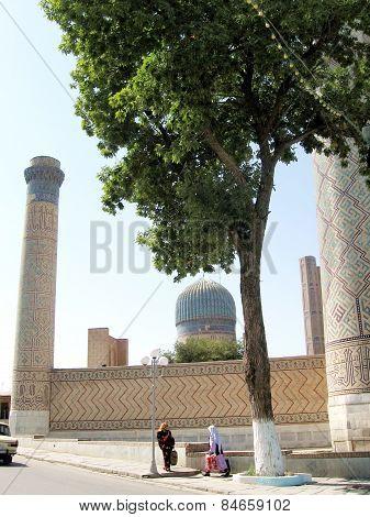 Samarkand The Bibi-khanim 2007