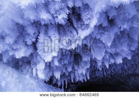 Cave Ice Formations