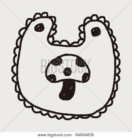 Baby Bib Doodle Drawing