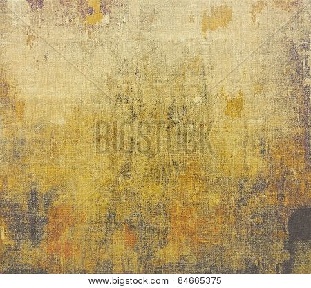 Vintage texture with space for text or image. With different color patterns: yellow (beige); brown; gray
