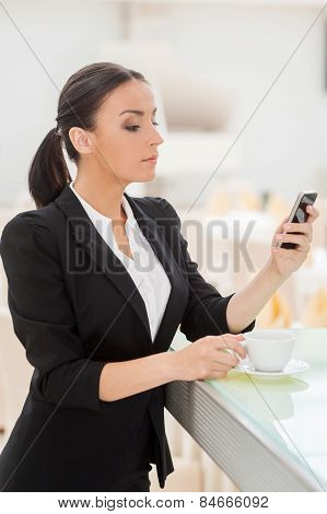 Checking Business Messages.