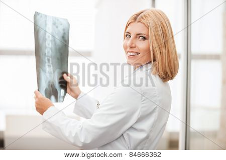 Doctor With X-ray.